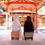 大原野神社 和装神前ご結婚式