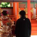 【京都結婚物語】大原野神社挙式 うお嘉ご会食が行われました。