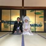 【京都結婚物語】高台寺挙式 洗心寮でのご会食が行われました。